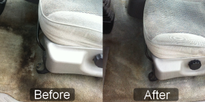clean truck carpets